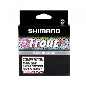 Леска SHIMANO Trout Competition Красная 150м, 0.18мм