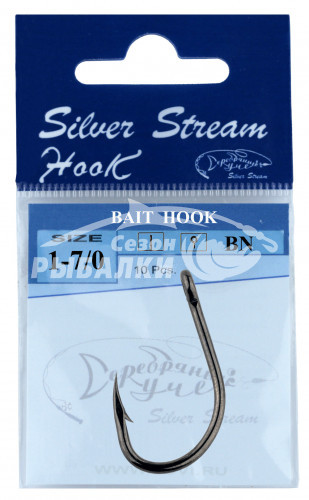 Крючки Silver Stream BAIT HOOK №1