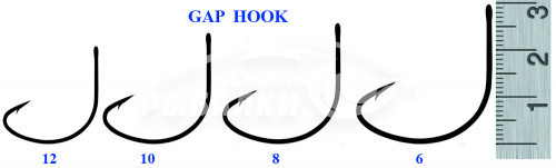 Крючки Silver Stream GAP HOOK №12